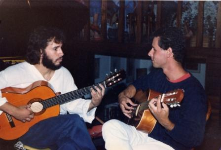 Photo of Alejandro Lazo and Paolo Grossi in Guadalajara